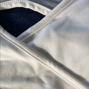 Gymshark Intimates & Sleepwear - Gymshark White Cross-Over Sports Bra